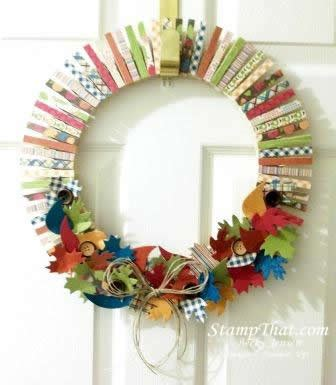 home made decoration things su orchard harvest dsp homemade home decor wreath