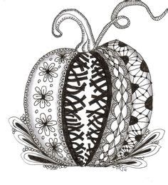 zentangle pumpkin printable coloring pages on pinterest dover publications coloring