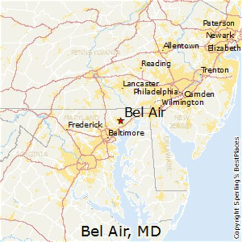 maryland map bel air best places to live in bel air maryland