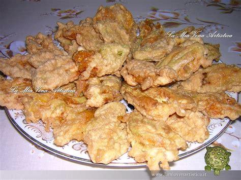 fiori di zucchina fritti antipasti