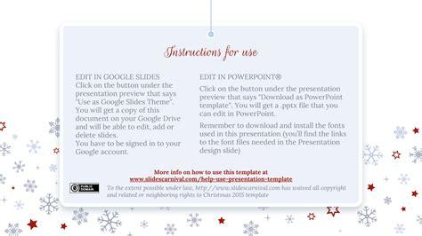 christmas theme google slides christmas 2017 free powerpoint template google slides