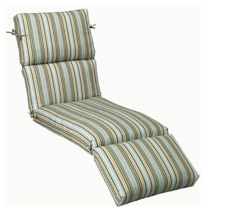 outdoor patio chaise lounge chair cushion large stripe