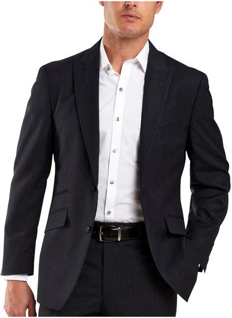 jcpenney jf j ferrar jf j ferrar striped navy suit jacket