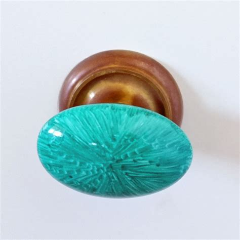 Diy Cabinet Knobs by Diy Faux Malachite Knobs Continued Teal And Lime By
