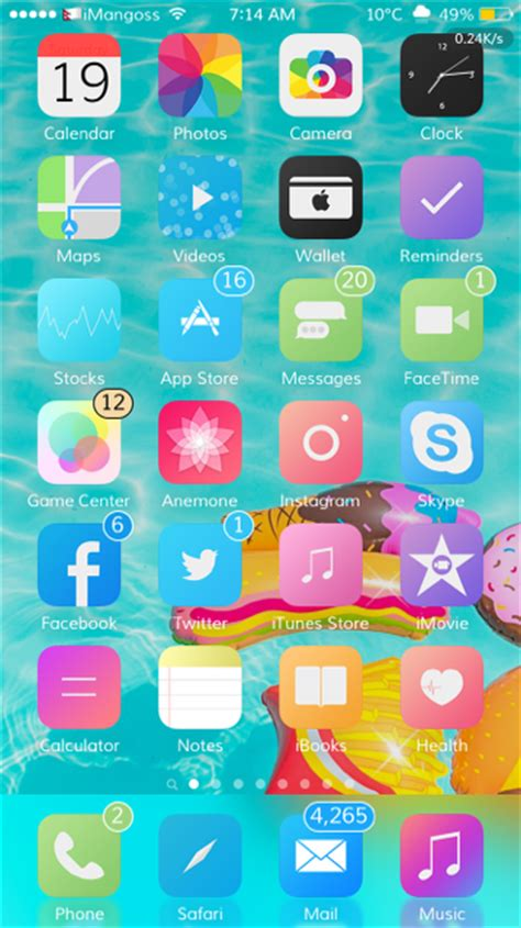 best ui themes for iphone top and best anemone themes compatible with ios 10 10 2