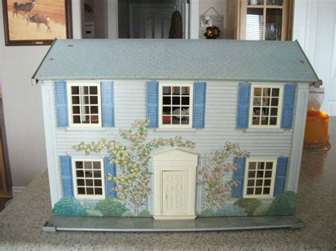 vintage metal doll houses 72 best images about tin house on pinterest