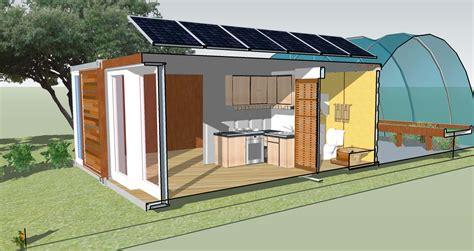 Mini Eco SmartHouse Farm Cabin Cut Away SmartHouse