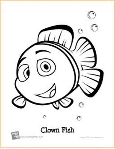clown fish coloring pages printable 61 best coloring pages images on pinterest