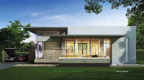 contemporary one story house plans unique single story home designs modern single story house