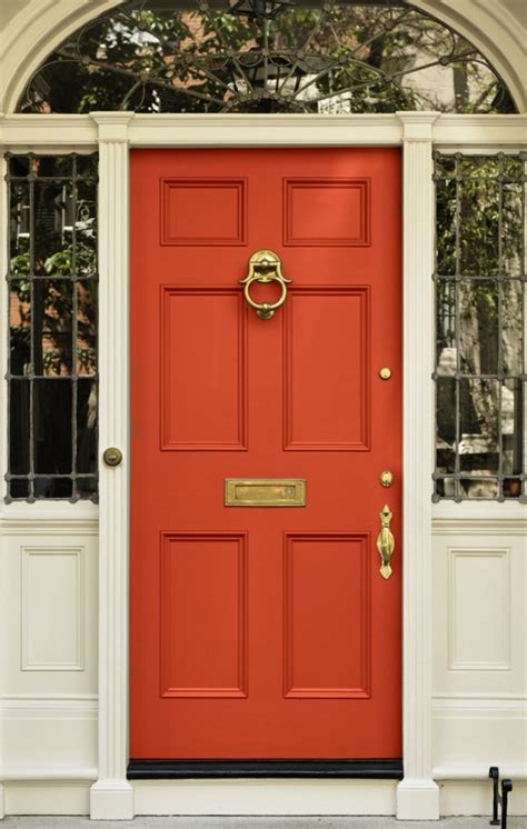 Colors For Exterior Doors Adding A Pop Of Color To Your Front Door Megan Handmade