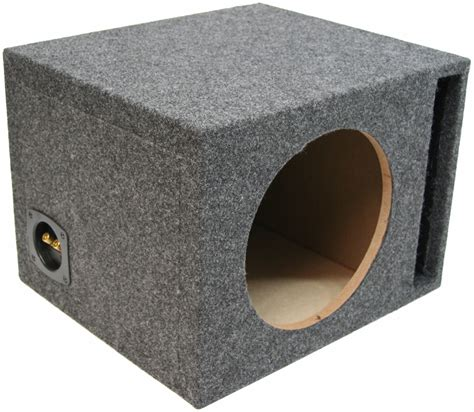 12 inch bass speaker cabinet single 12 inch ported subwoofer box car audio stereo bass