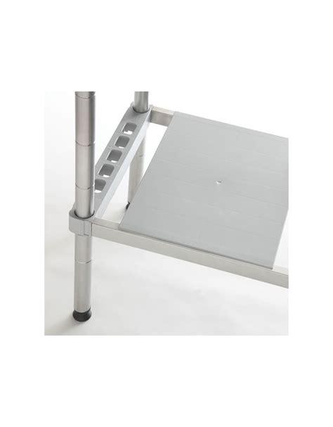 scaffale inox scaffale in acciaio inox con ripiani in polietilene cm