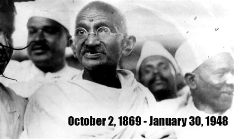 biography of mahatma gandhi from birth to death twitterati pays homage to mahatma gandhi on 68th death