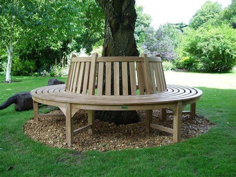 round tree bench circular tree bench garden pinterest