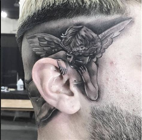 behind the ear tattoos for men 25 best ideas about inner ear on ear