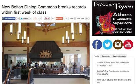 Bolton Records New Bolton Dining Commons Breaks Records Within Week Of Class Mariana B Viera
