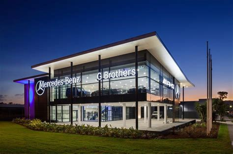mercedes showroom fdc completes construction of g brothers mercedes benz
