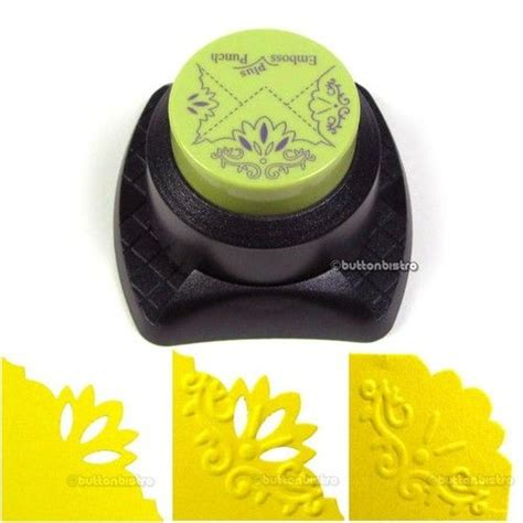 paper craft punches fiskars combo corner punch embossing blossom