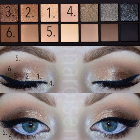 Eyeshadow Tutorial Smashbox | colors and placement using the smashbox full exposure