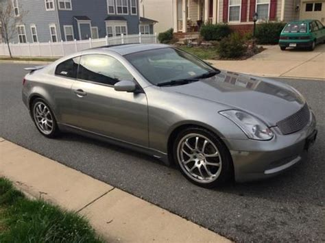 how to sell used cars 2005 infiniti g parking system purchase used 2005 infiniti g35 coupe with sport package 28 mpg 300 hp in fredericksburg