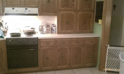 Relaminating Kitchen Countertops by Refinshing A Countertop And Adding A Raised Backsplash