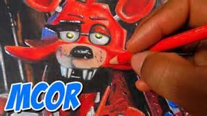 Dibujando a foxy five nights at freddy s fnaf youtube