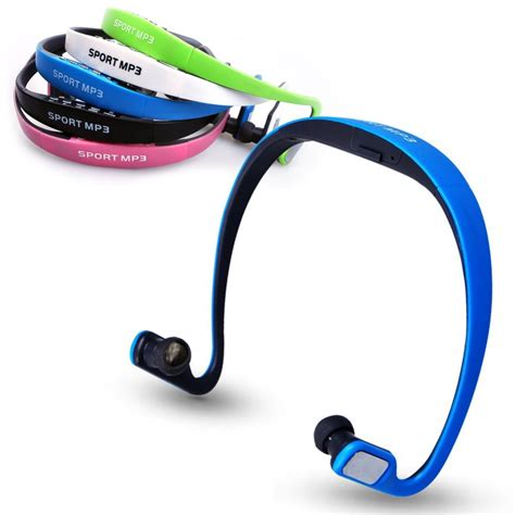 Headset Sport Bluetooth Headset Mp3 Bluetooth Termurah sport earphones headsets portable tf card headphones fm radio headset stereo mp3 player