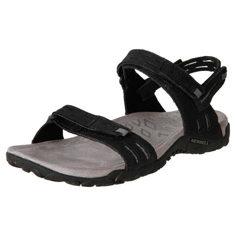 comfortable sandals for travel new merrell women s leather comfort travel walking sandals