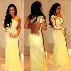 Dress mermaid prom dress lace dress see through dress prom dress long
