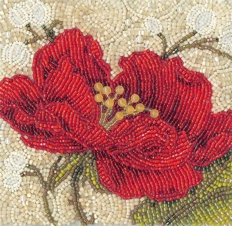 bead embroidery flowers 537 best embroidery beading 1 images on