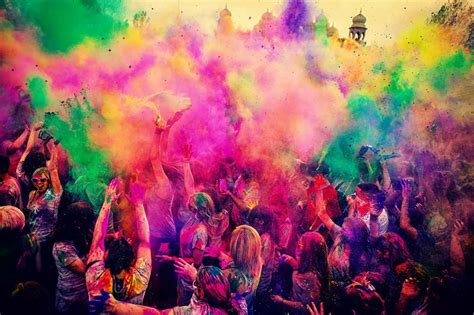 beirut holi festival of colours