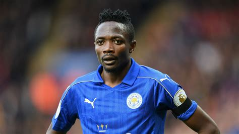 ahmed musa can forward s leicester career be saved by