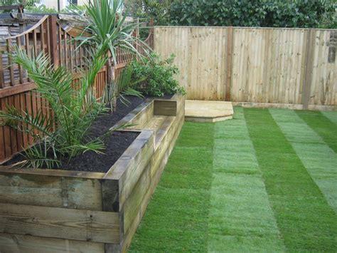 railway sleepers 171 garden gurus landscape gardening in