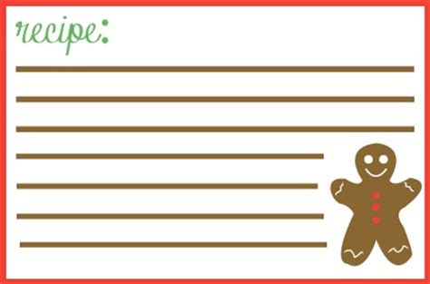 gingerbread card template 78 images about gingerbread recipe cards on