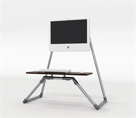 Desktop Stand Up Desk With Integrated Monitor Stand Desktop Stand Up Desk