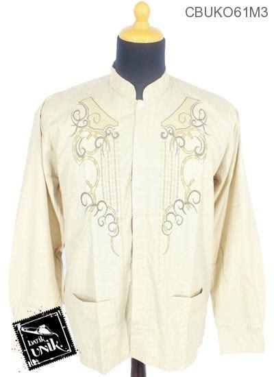 Koko Muslim Motif Batik Kebumen baju muslim koko motif rantai mlengkuwer koko batik