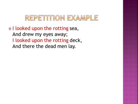 rhyme rhythm repetition ppt video online download