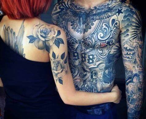 hot tattoo couples 65 best images about tattooed couples on