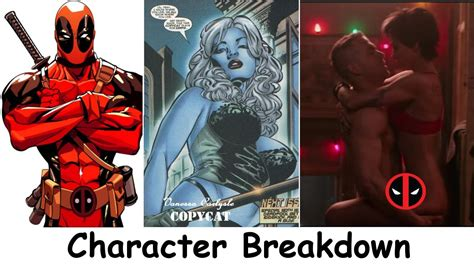 deadpool in marvel movie characters deadpool movie characters who are they youtube