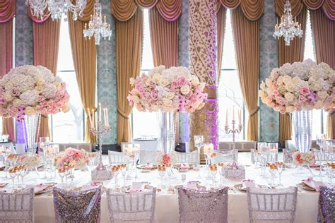 wedding ideas long reception tables magazine