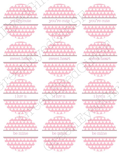 Printable Lollipop Tags | free printable friday valentine s cake pop lollipop tags