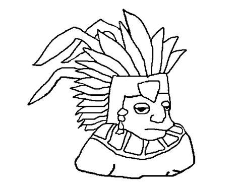 Imagenes De Aztecas Para Colorear | free dibujos aztecas coloring pages