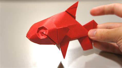 How To Make A Fish Out Of Paper Plate - origami fish davor vinko