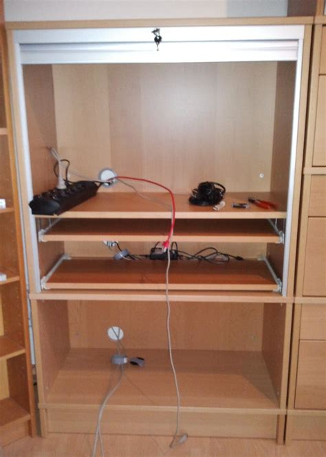 add drawer runners to billy shelves for pull out shelves