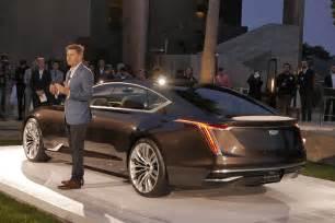 Cadillac Information Cadillac Escala Concept Debut Photos And Information