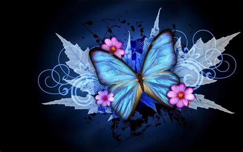 Butterfly Biru biru kupu kupu hd wallpaper desktop layar lebar definisi tinggi fullscreen