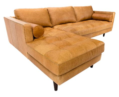 sven charme tan sofa sven charme tan left sectional sofa decorist