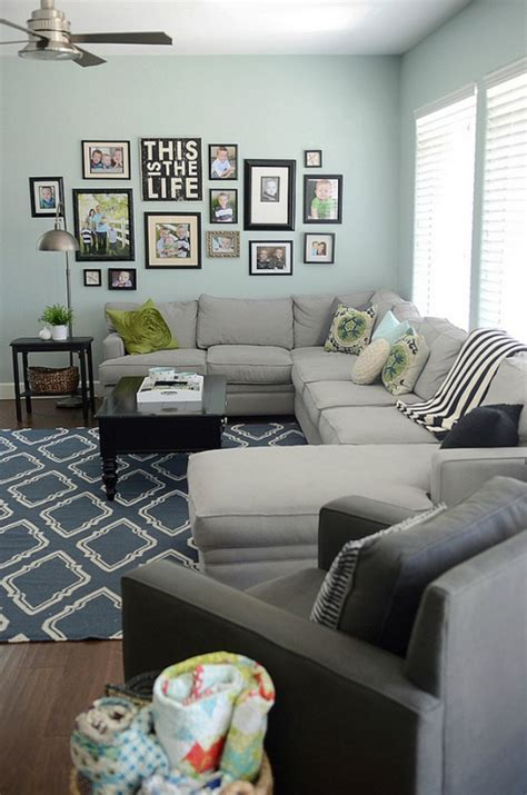 living room displays create a gallery wall ideas for picture frame displays