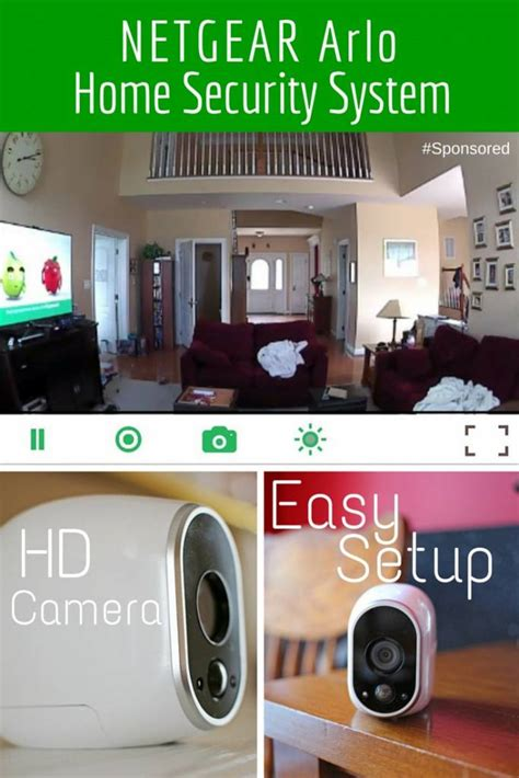 netgear arlo home security system is easy to set up