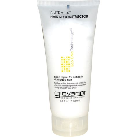 reconstructor for hair giovanni nutrafix hair reconstructor 6 8 fl oz 200 ml